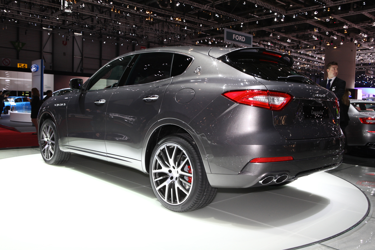 maserati levante 2016 d couverte du premier suv maserati gen ve photo 12 l 39 argus. Black Bedroom Furniture Sets. Home Design Ideas