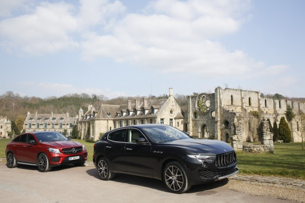 maserati levante 2016 vs mercedes gle coupe 2015