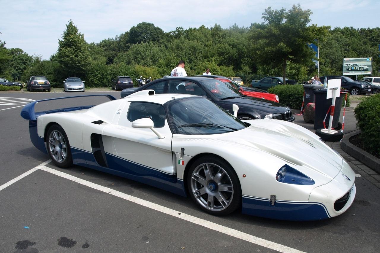 top 50 des voitures les plus puissantes au monde 47 ex aequo maserati mc12 l 39 argus. Black Bedroom Furniture Sets. Home Design Ideas