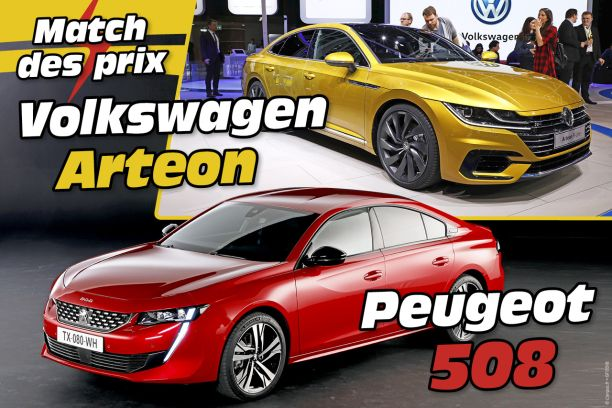 peugeot 508 vs volkswagen arteon le match des prix l 39 argus. Black Bedroom Furniture Sets. Home Design Ideas