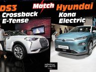 DS3 Crossback E-Tense vs Hyundai Kona Electric : déjà le match !