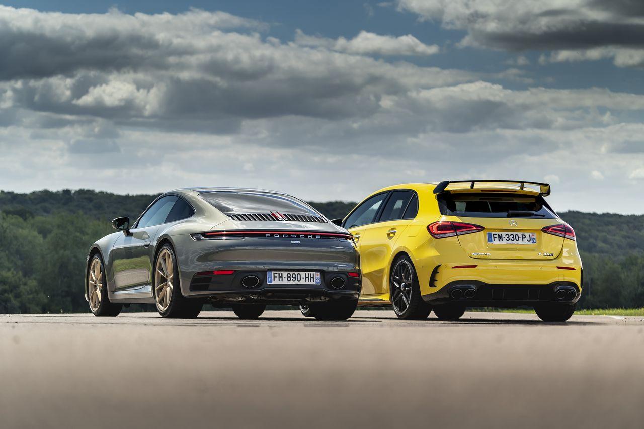 2018 - [Mercedes] Classe A (W177) - Page 35 Match-porsche-911-vs-mercedes-a-45-amg-2020-61
