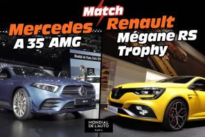 renault megane rs trophy 2019 vs A AMG 35