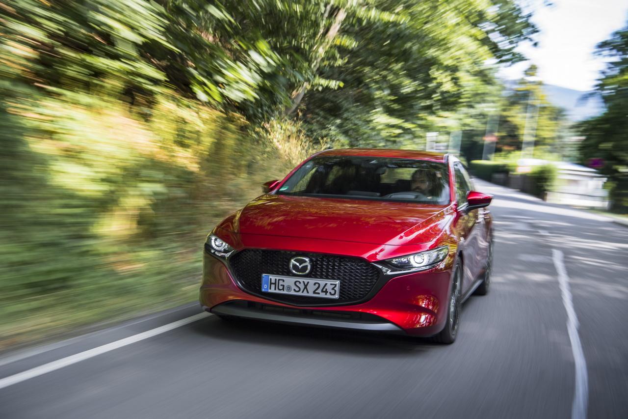Essai Mazda 3 Skyactiv-X 180 ch : premier contact !