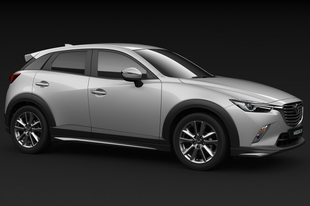 Mazda CX-3 urban design