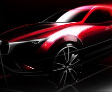 Mazda CX-3 : premi�re photo du futur petit SUV de Mazda