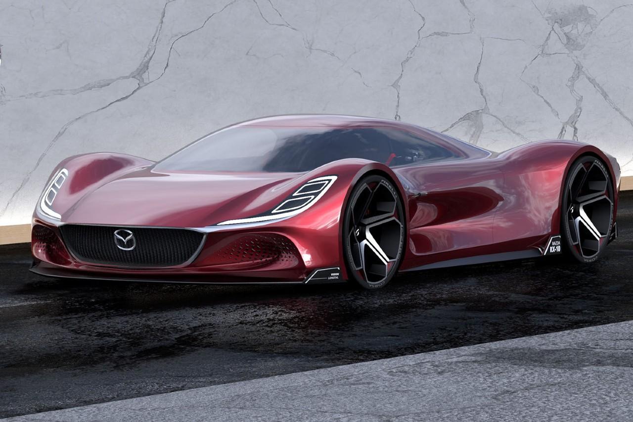 Mazda RX-10 Vision Longtail, un concept pour rêver