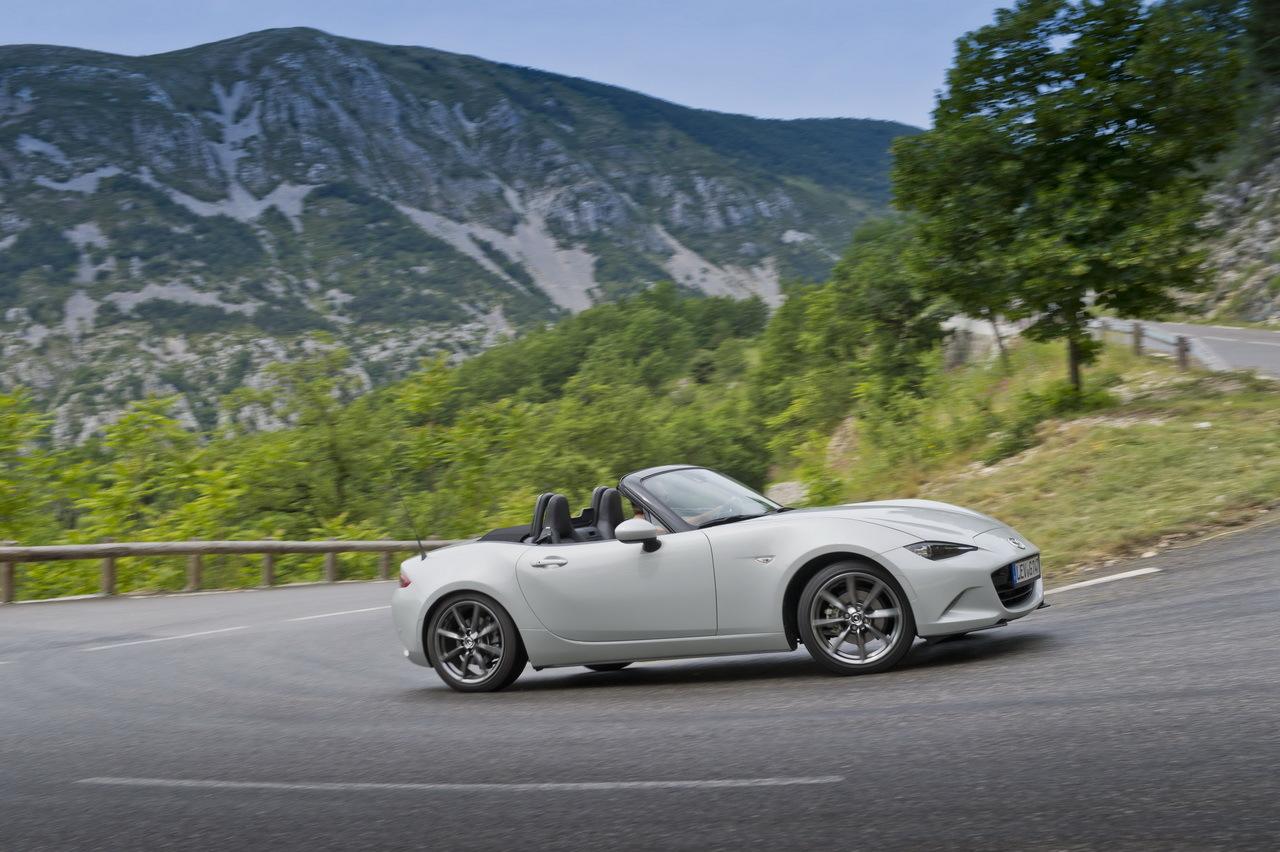 Nouvelle MX-5 IV (2015) : Mazda révèle sa nouvelle Miata - L'argus