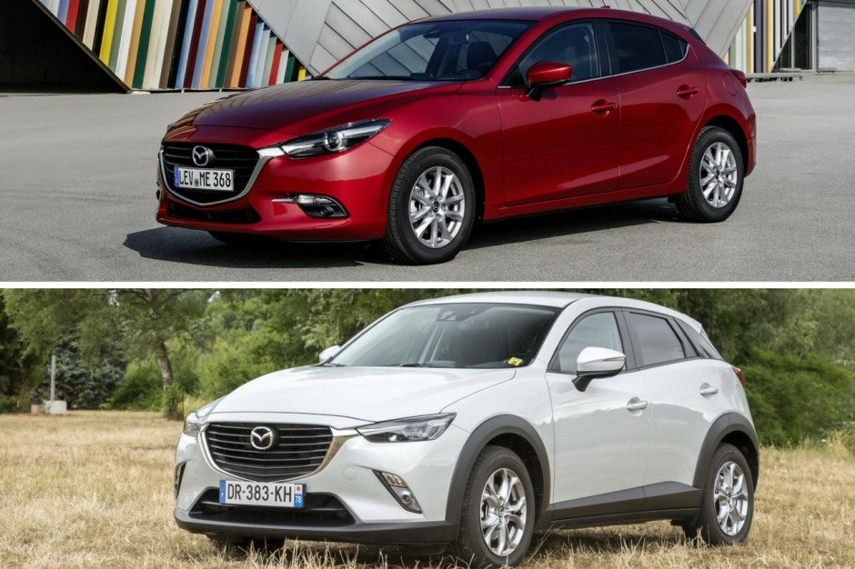 mazda 3 et cx 3 signature 2017 nouvelle s rie sp ciale chez mazda photo 1 l 39 argus. Black Bedroom Furniture Sets. Home Design Ideas