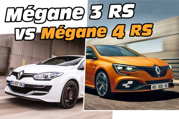 renault m gane 4 rs vs m gane 3 rs quels sont les changements l 39 argus. Black Bedroom Furniture Sets. Home Design Ideas