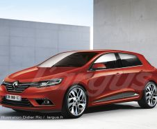illustration photomontage nouvelle renault megane 4 2015 2016