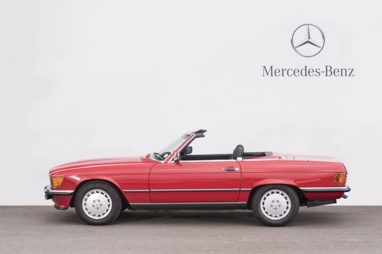 mercedes sl occasion annonces achat vente de voitures autos post. Black Bedroom Furniture Sets. Home Design Ideas