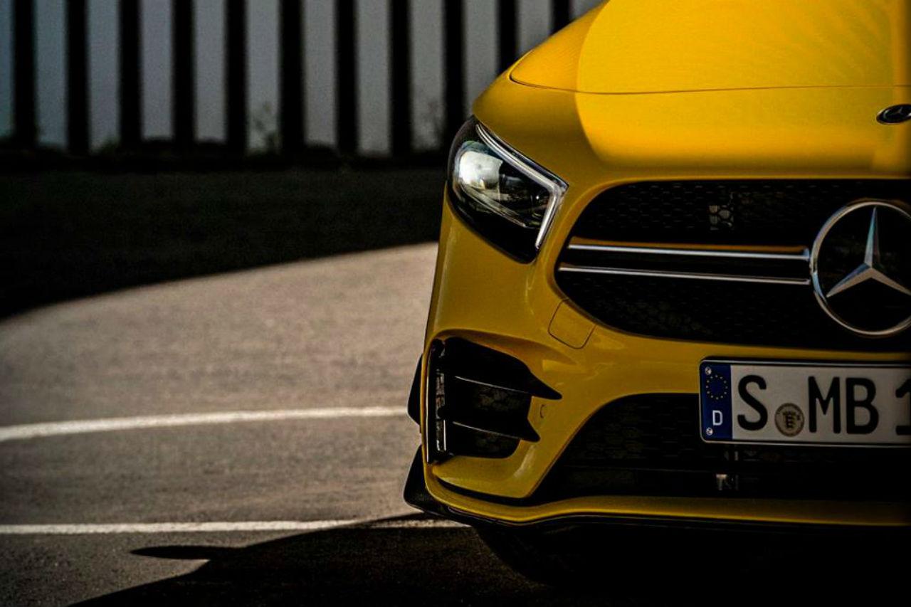 Mercedes A35 AMG: la Classe A sportive sera au Mondial de l'Auto