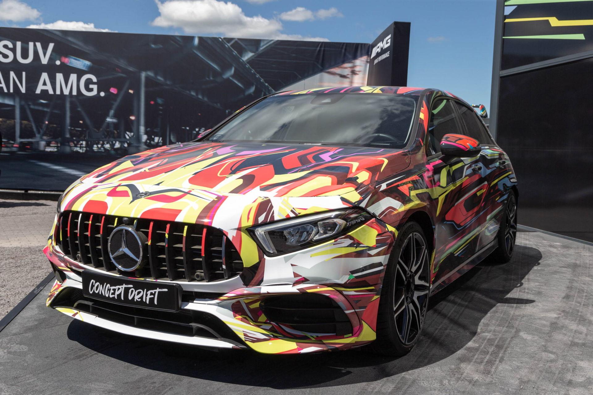 """Mercedes A45 AMG S (2019) : un concept nommé """"Drift"""" pour patienter"""