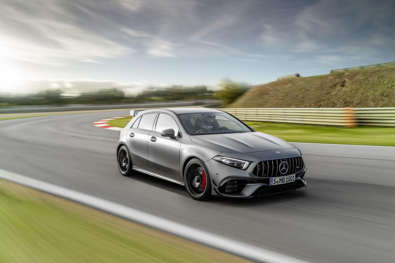 Mercedes-AMG Classe A 45 S et CLA 45 S. Photos et infos officielles.