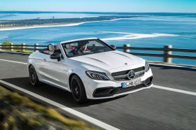 Mercedes-AMG C 63 Cabriolet avant