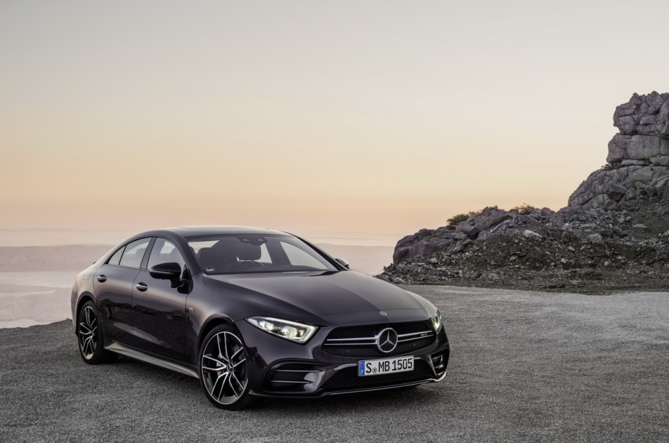 mercedes amg cls 53 premi res photos de l 39 amg hybrid e photo 1 l 39 argus. Black Bedroom Furniture Sets. Home Design Ideas