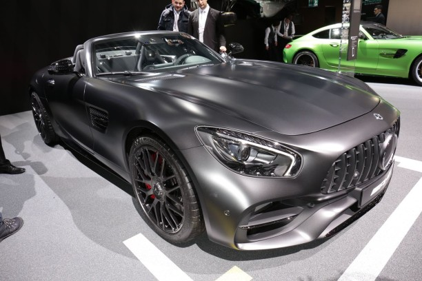 mercedes amg gt c roadster edition 50 joyeux anniversaire amg l 39 argus. Black Bedroom Furniture Sets. Home Design Ideas