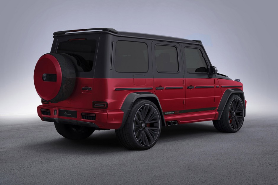 nouveau mercedes amg g63 d j une version tuning photo 4 l 39 argus. Black Bedroom Furniture Sets. Home Design Ideas