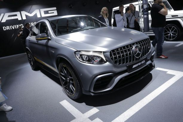 mercedes glc coup amg edition 1 le top du genre francfort l 39 argus. Black Bedroom Furniture Sets. Home Design Ideas