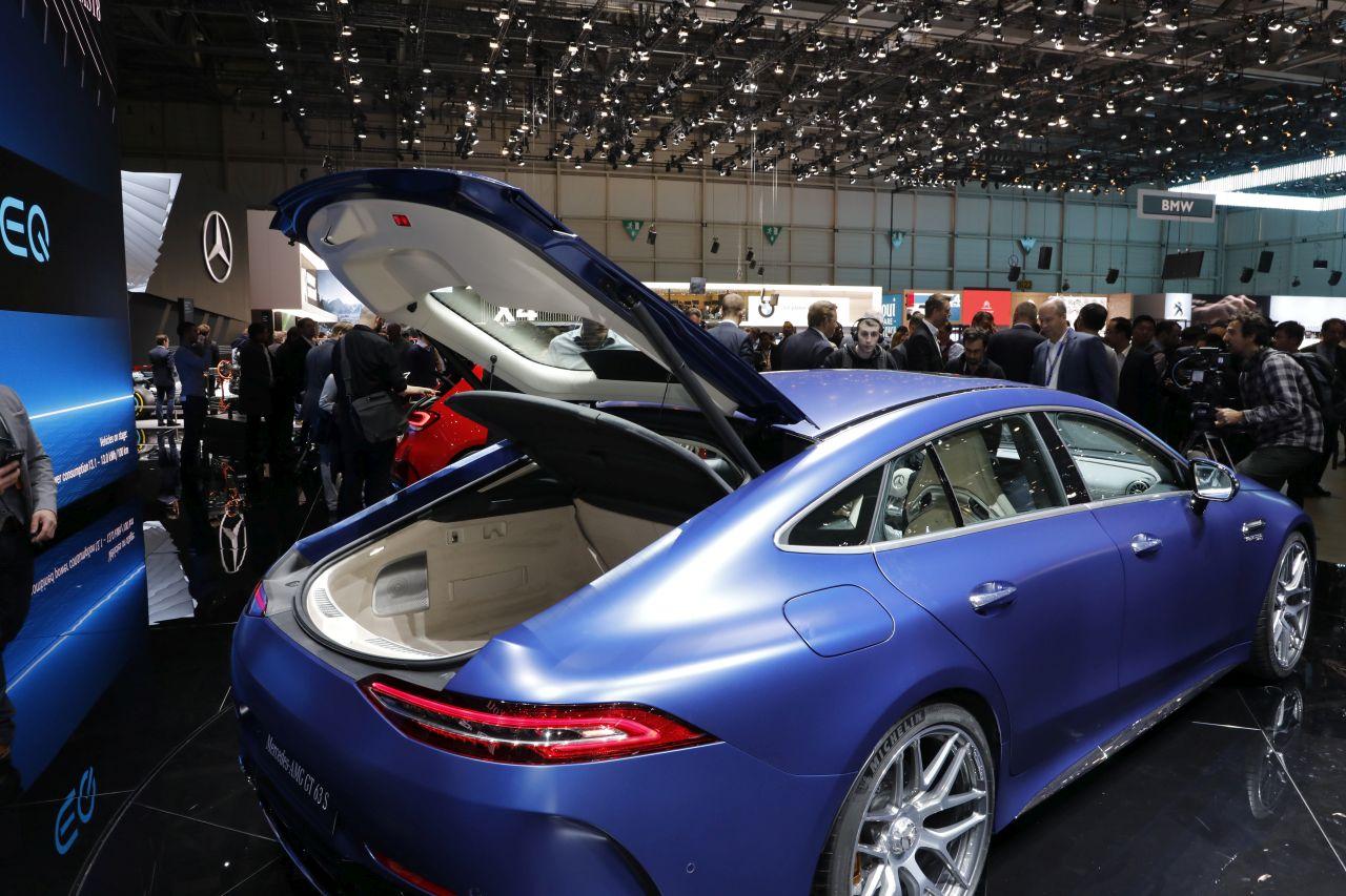 Nouveau Qashqai 2018 >> Mercedes AMG GT 4 portes : les secrets de la nouvelle AMG ...