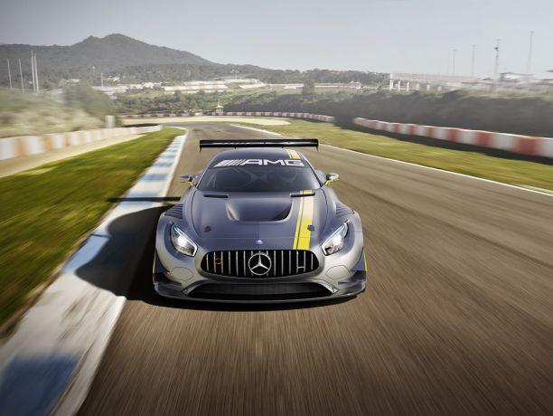Mercedes Amg Gt3 2015 Paree Pour La Course L Argus