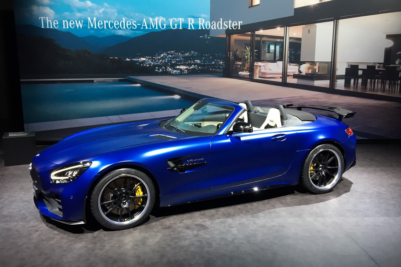 Mercedes Amg Gt R Roadster Seulement 750 Exemplaires