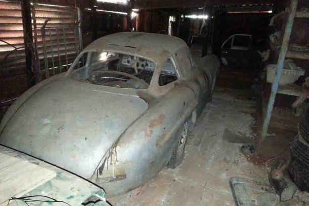 Une Mercedes 300 Sl Abandonnee A Cuba L Argus