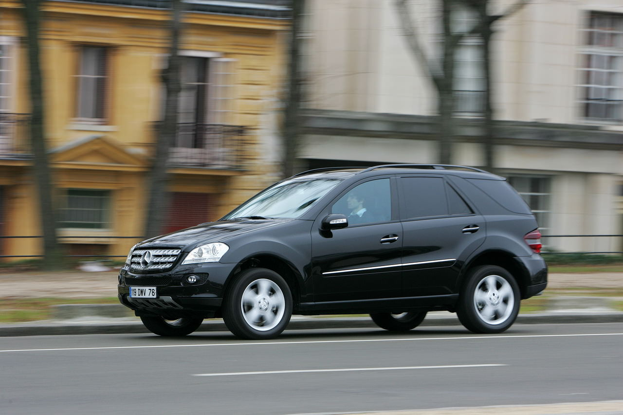 essai du mercedes ml 420 cdi 4matic 2007 photo 8 l 39 argus. Black Bedroom Furniture Sets. Home Design Ideas