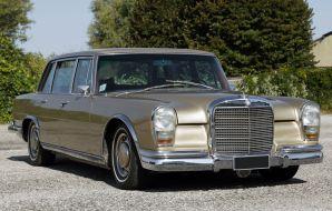 Mercedes-Benz Classe S600 Limousine Jean-Louis Trintignant 1968