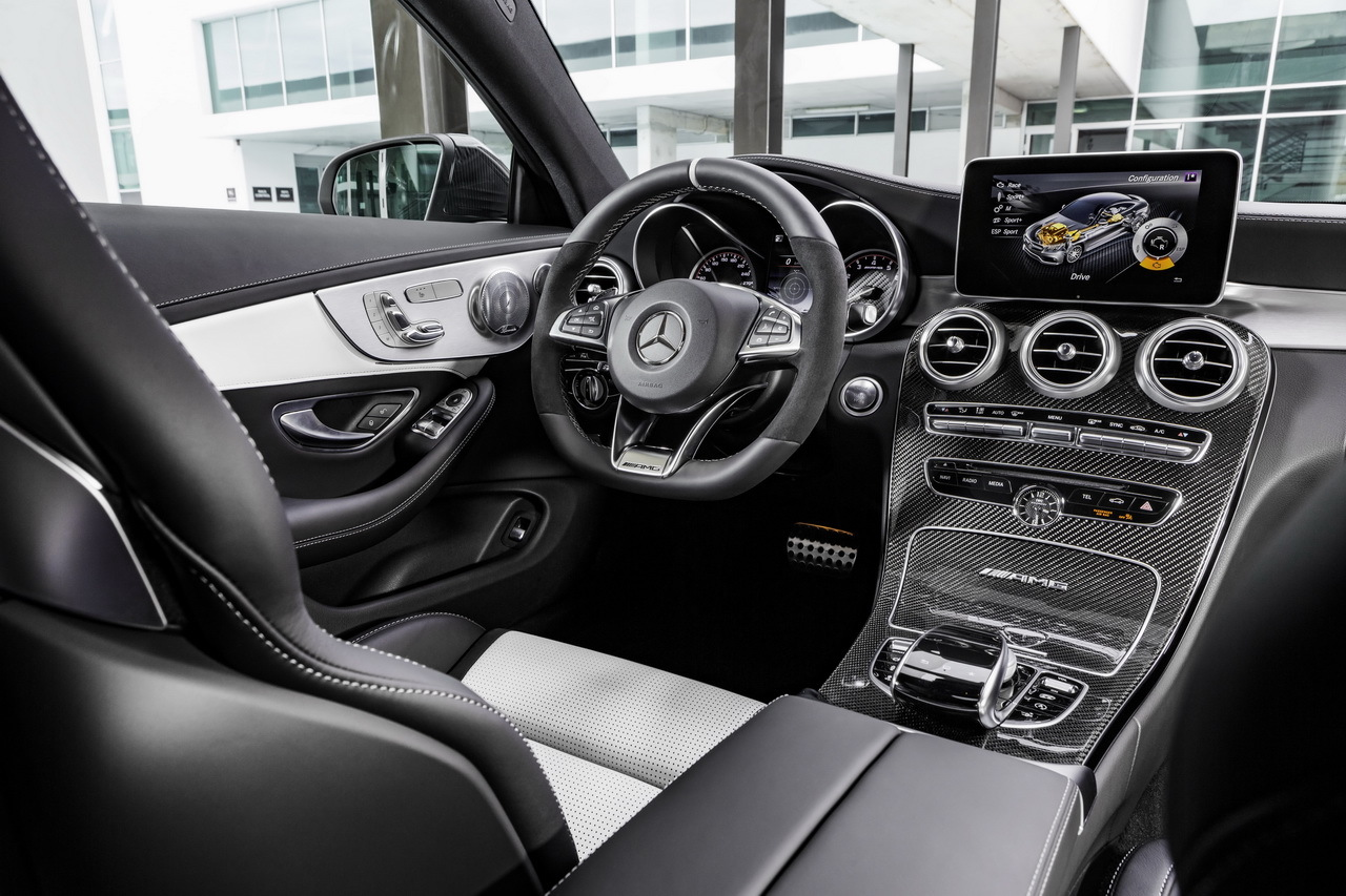 mercedes amg c 63 coup 2016 toutes les infos et fiche technique photo 22 l 39 argus. Black Bedroom Furniture Sets. Home Design Ideas