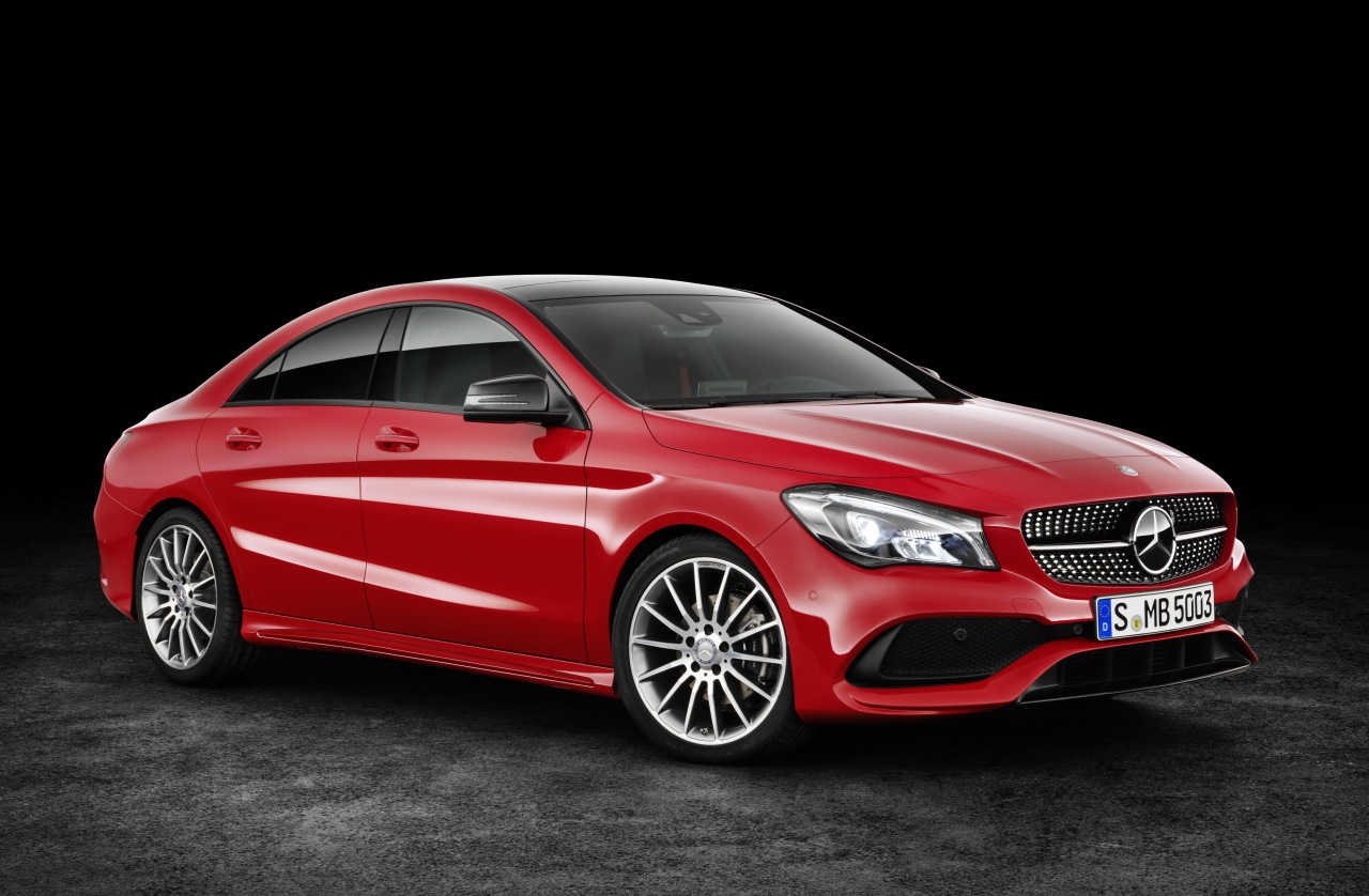 prix mercedes cla restyl e 2016 partir de 29 900 euros l 39 argus. Black Bedroom Furniture Sets. Home Design Ideas