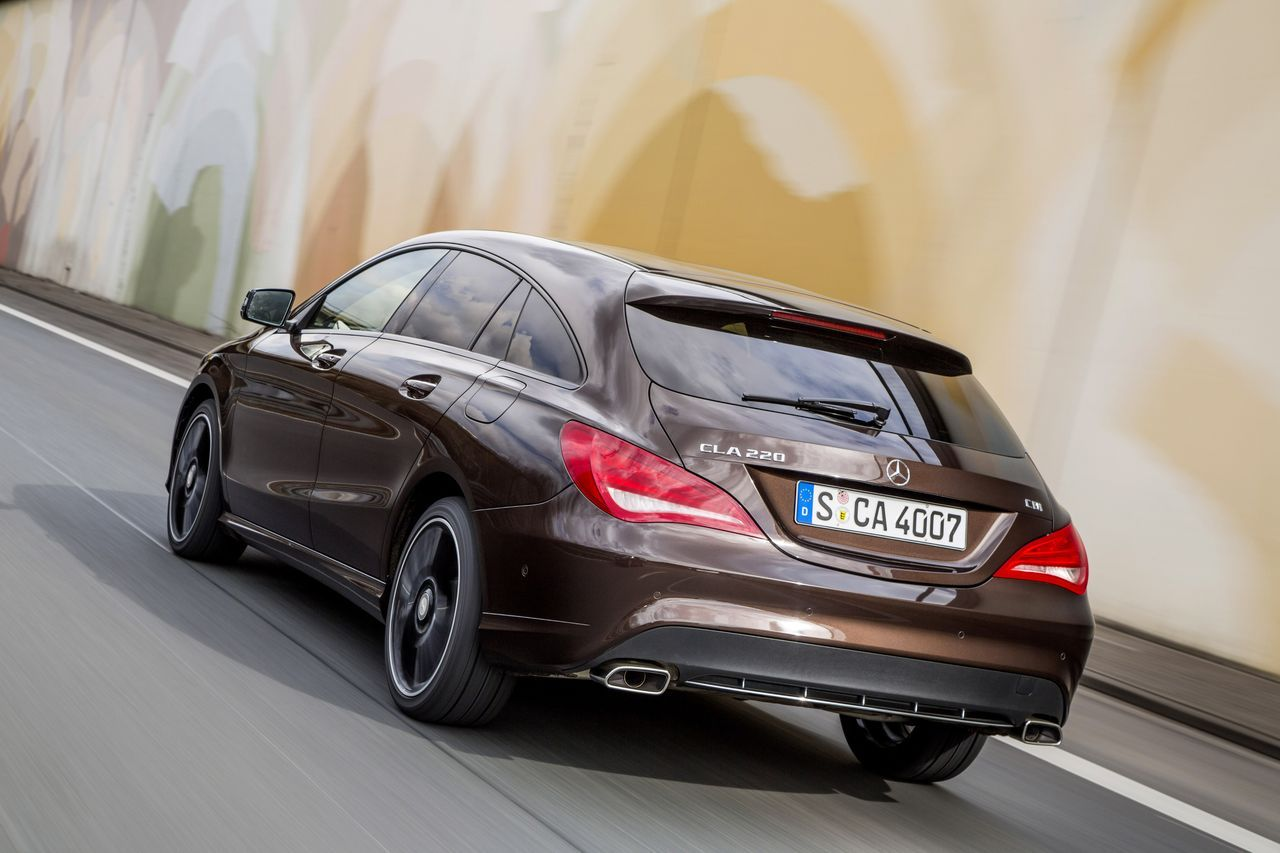Essai Mercedes Cla Shooting Brake Beaut 233 Du Diable Prix