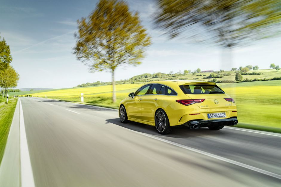 Mercedes Cla 35 Amg Shooting Brake Un Break Tr 232 S Muscl 233