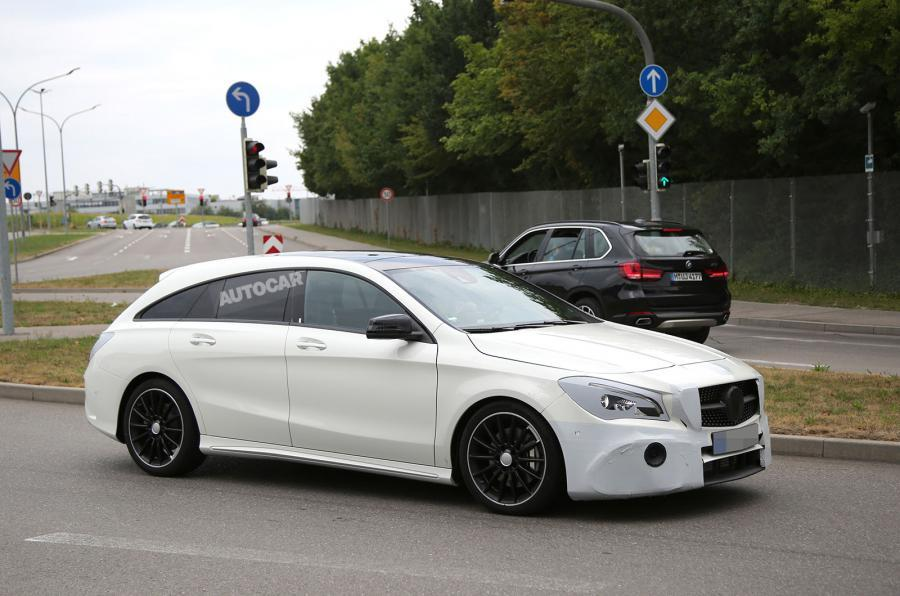 Mercedes Cla Shooting Brake 2016 Discret Restylage