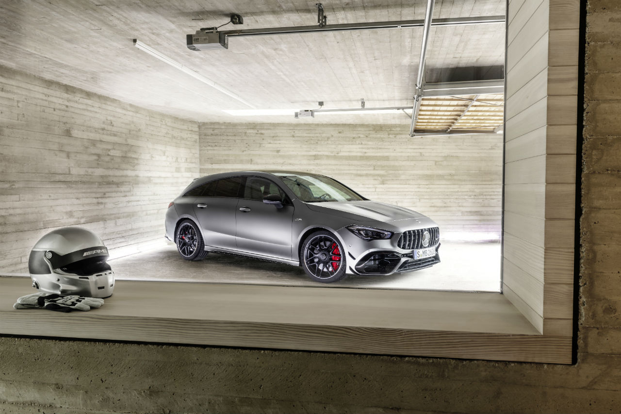 Mercedes CLA 45 AMG Shooting Brake  : un break de chasse de 421 ch