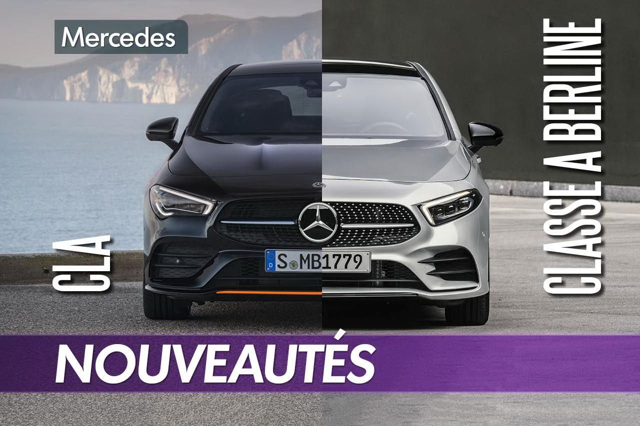 Mercedes CLA vs Classe A Berline : quelles sont les différences ?