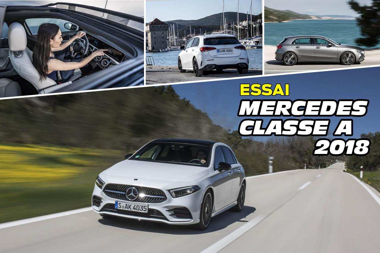 Mercedes Classe A 2018 : notre essai en 30 images