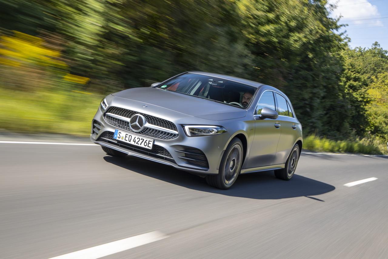 Essai Mercedes A 250 e hybride : électrique au quotidien