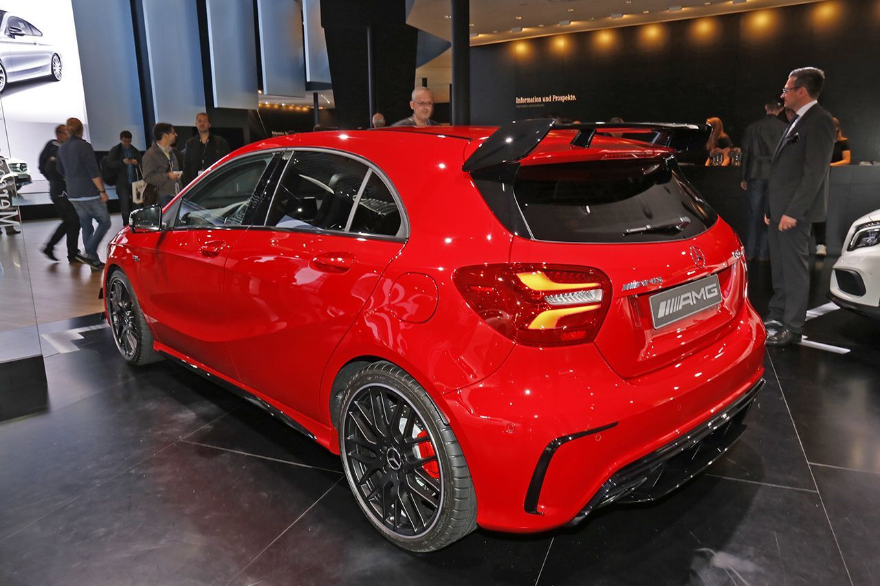 mercedes classe a 45 amg prix et photos du mod le 2015 l 39 argus. Black Bedroom Furniture Sets. Home Design Ideas