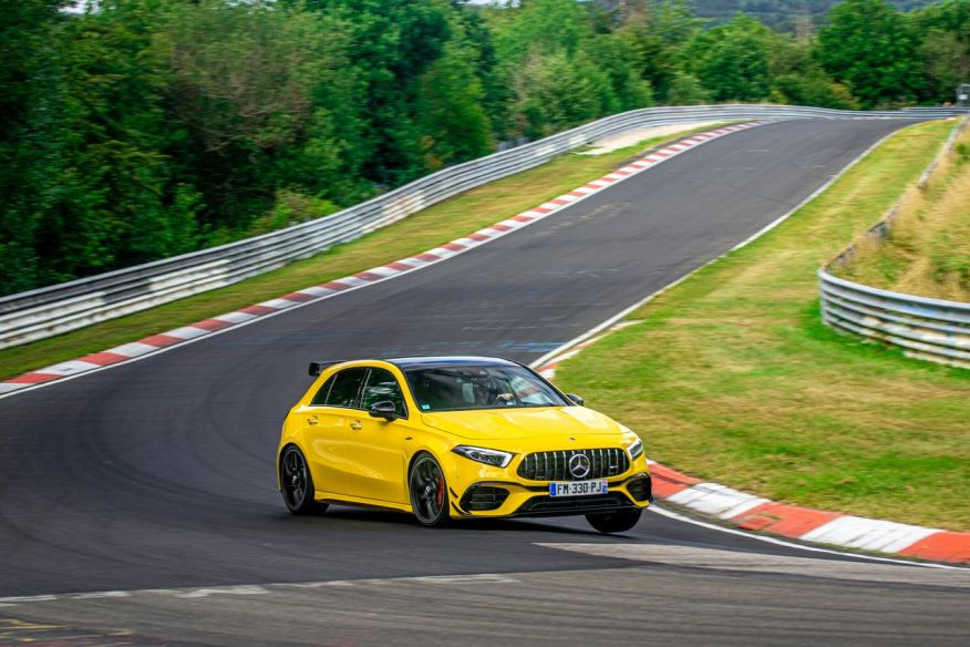 2018 - [Mercedes] Classe A (W177) - Page 35 Mercedes-classe-a-45-s-amg-nurburgring-test-2020