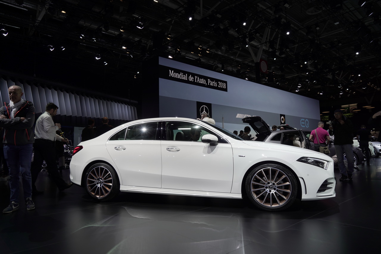 Mercedes Classe A Berline : premières impressions