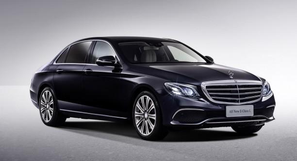 la nouvelle mercedes classe e s 39 offre une version limousine l 39 argus. Black Bedroom Furniture Sets. Home Design Ideas