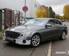 Mercedes Classe E (2016) spyshot vue avant