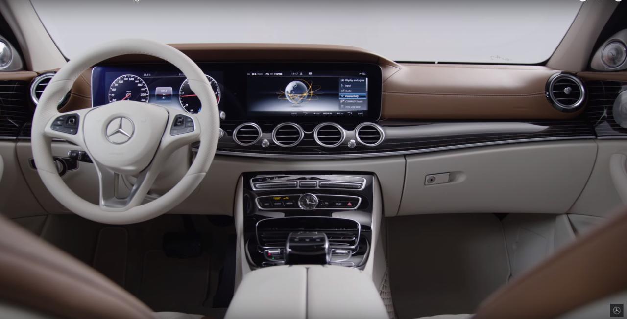 Video Montez A Bord De La Future Mercedes Classe E 2016 L Argus
