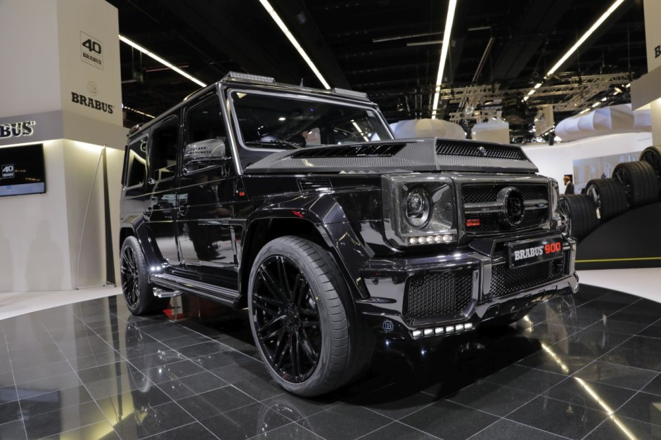 les mercedes classe g les plus fous du salon de francfort 2017 mercedes classe g brabus 900. Black Bedroom Furniture Sets. Home Design Ideas