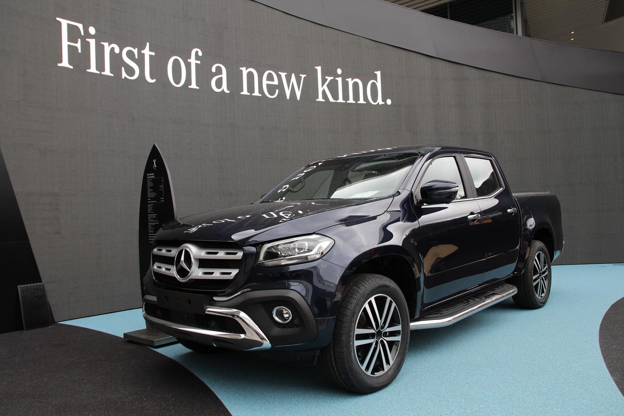 Prix Mercedes Classe X : les tarifs du pick-up Mercedes ...