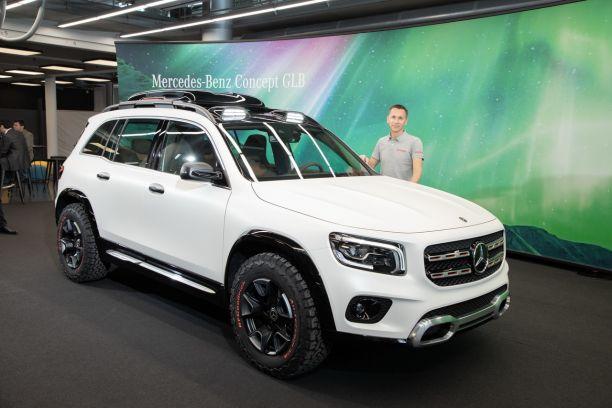 Le Meilleur Suv >> Mercedes Concept Glb Le Futur Suv A Sept Places De Mercedes