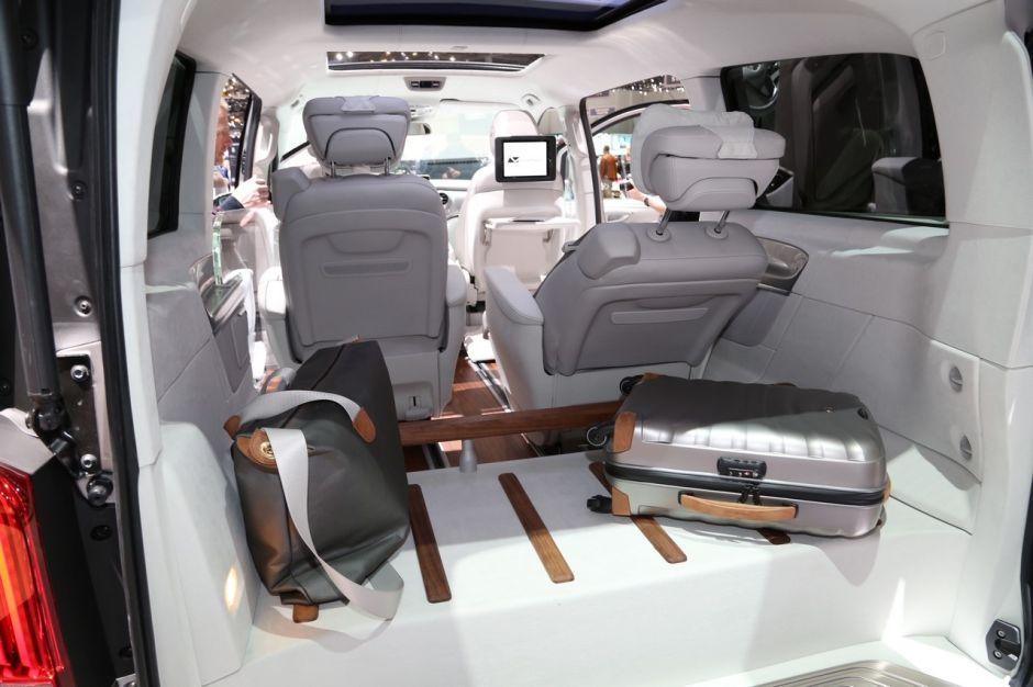 mercedes classe v ision e concept l 39 hybride grand format. Black Bedroom Furniture Sets. Home Design Ideas