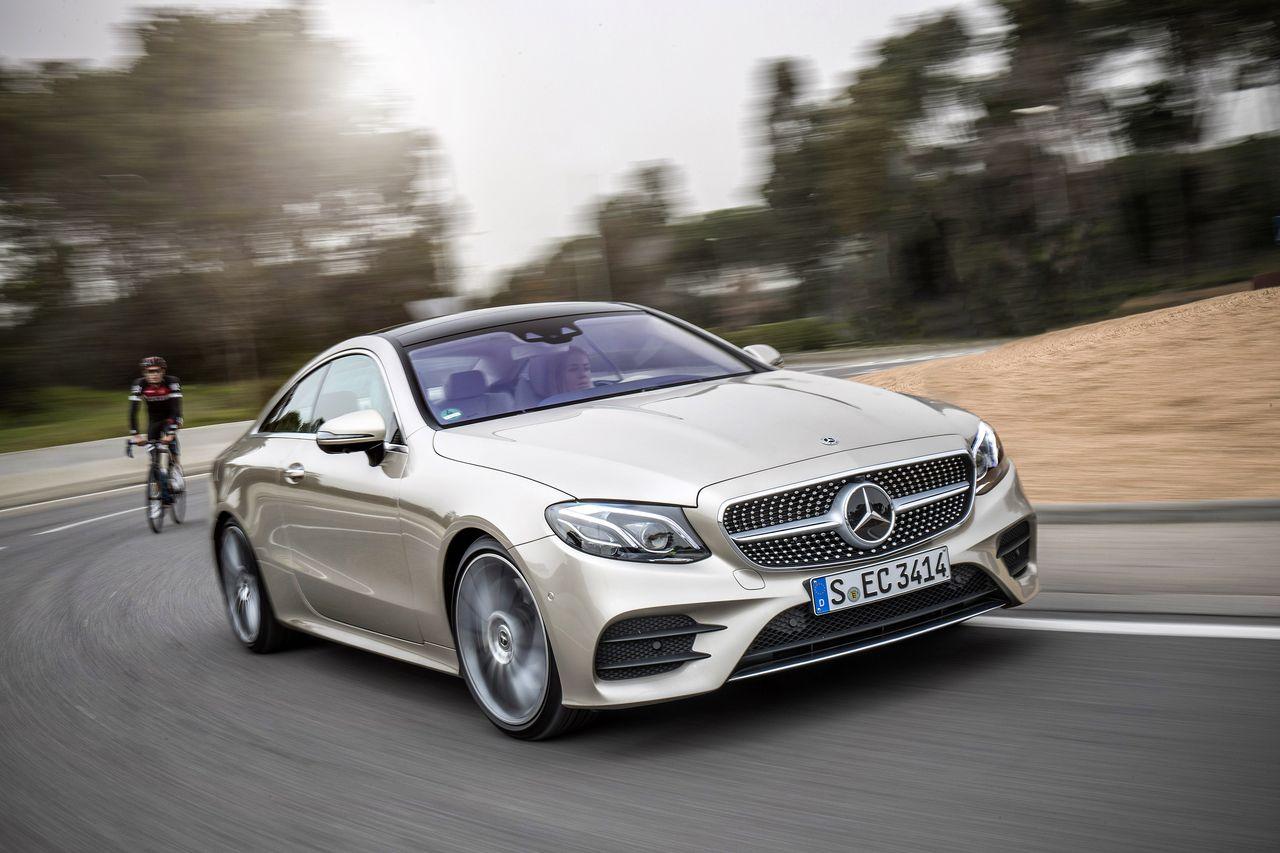 Essai Mercedes Classe E 300 Coup 233 2017 Sa Majest 233 A Un